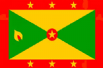 Grenada Large Country Flag - 5' x 3'.